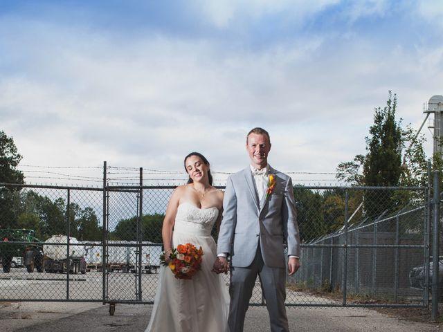 Steven and Andrea's wedding in Alliston, Ontario 1