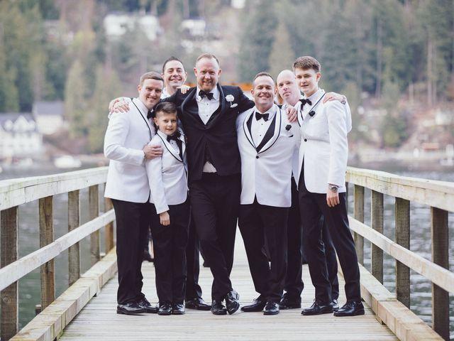 Matt and Lindsey's wedding in Bowen Island, British Columbia 26