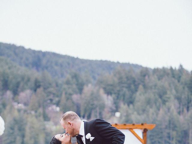 Matt and Lindsey's wedding in Bowen Island, British Columbia 1
