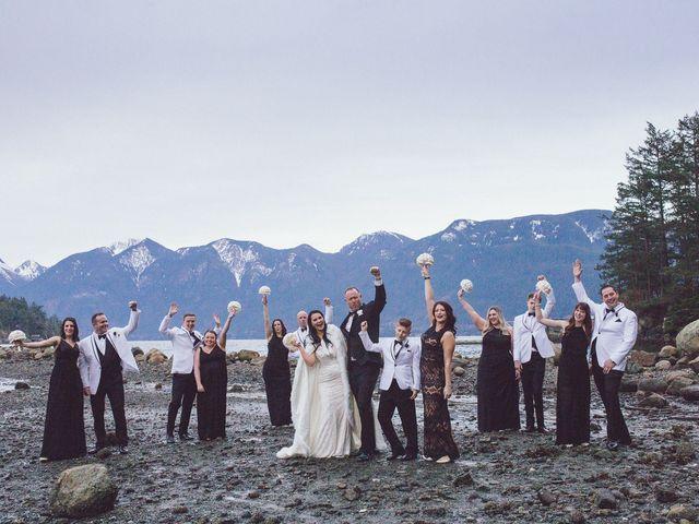 Matt and Lindsey's wedding in Bowen Island, British Columbia 2