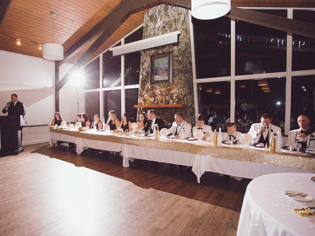 Matt and Lindsey's wedding in Bowen Island, British Columbia 40