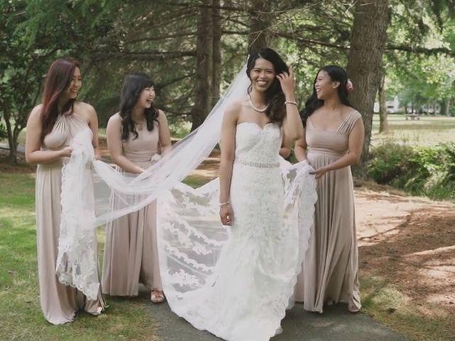 Michael and Cristel's wedding in Tsawwassen, British Columbia 1