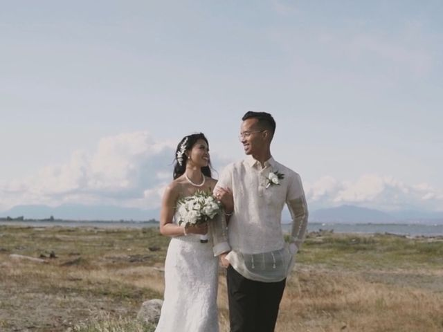 Michael and Cristel's wedding in Tsawwassen, British Columbia 2