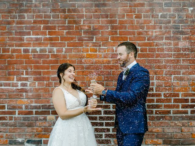 The wedding of Shane and Danielle