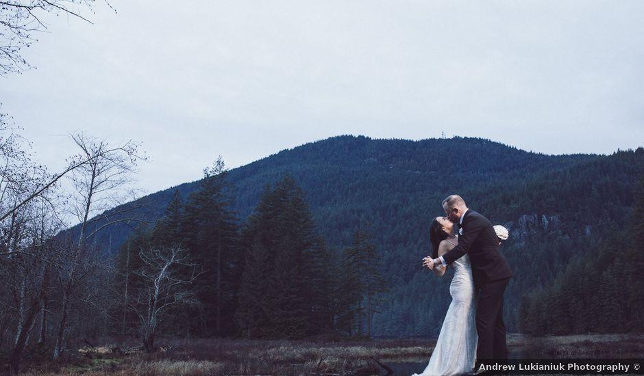 Matt and Lindsey's wedding in Bowen Island, British Columbia
