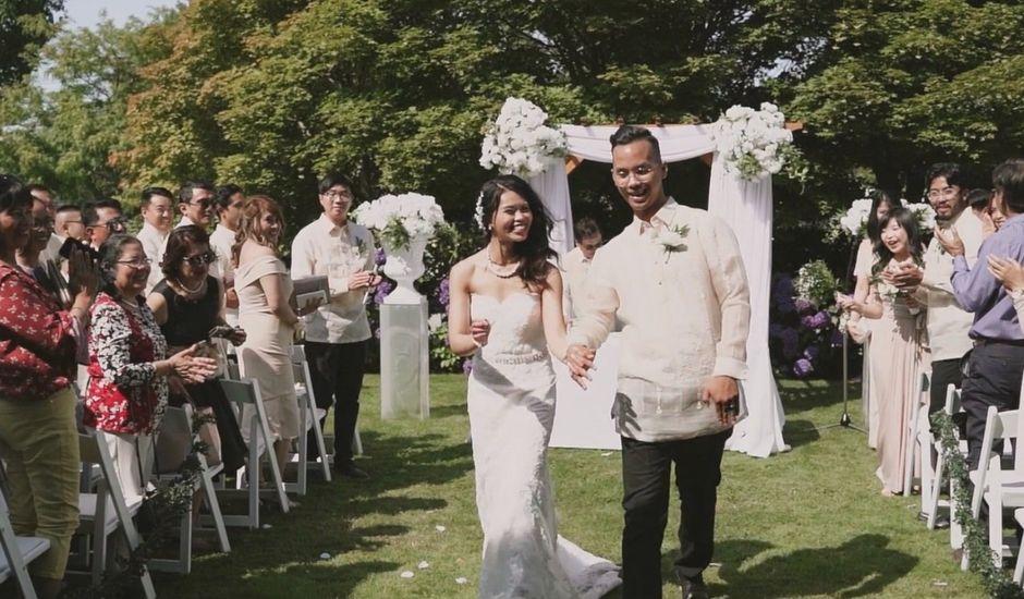 Michael and Cristel's wedding in Tsawwassen, British Columbia