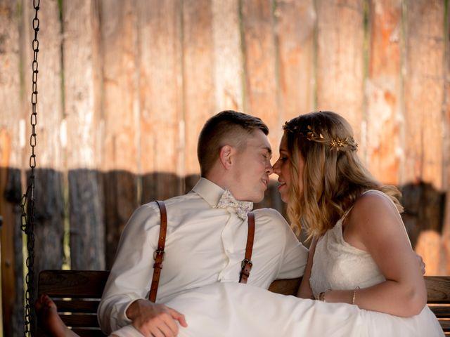 The wedding of Hanna and Matt