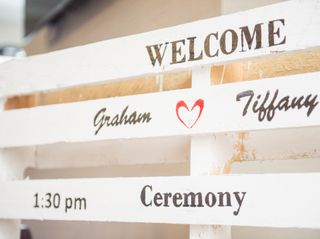 The wedding of Tiffany and Graham 2