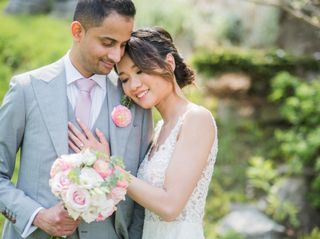 The wedding of Tiffany and Graham