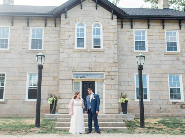 The wedding of Whitney and Rhys
