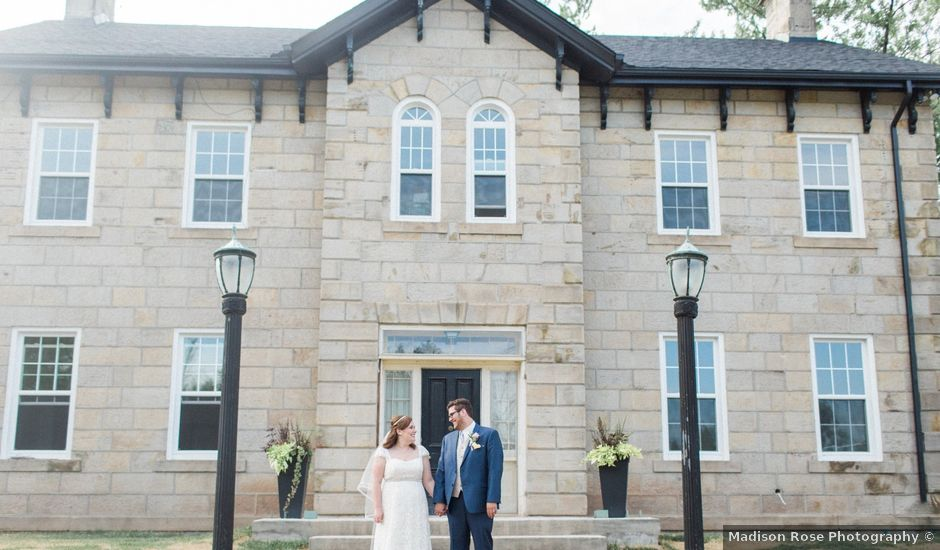 Rhys and Whitney's wedding in Burlington, Ontario