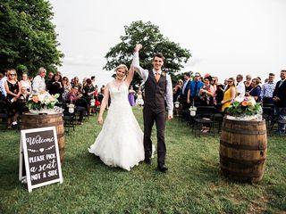 The wedding of Heidi and Ben