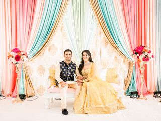 The wedding of Parul and Rohit  2
