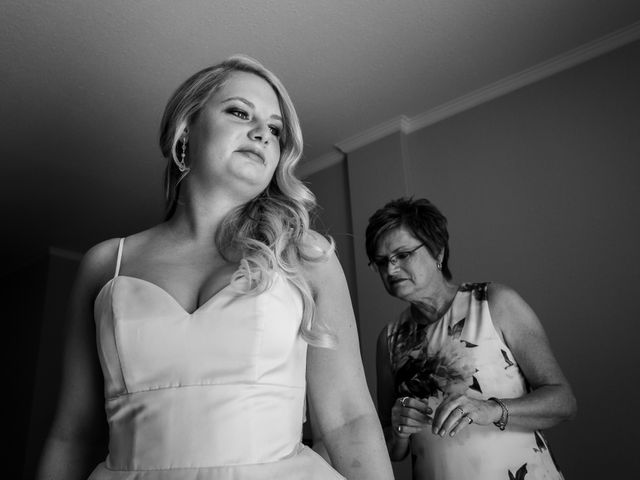 Dustin and Shannon's wedding in Jasper, Alberta 4