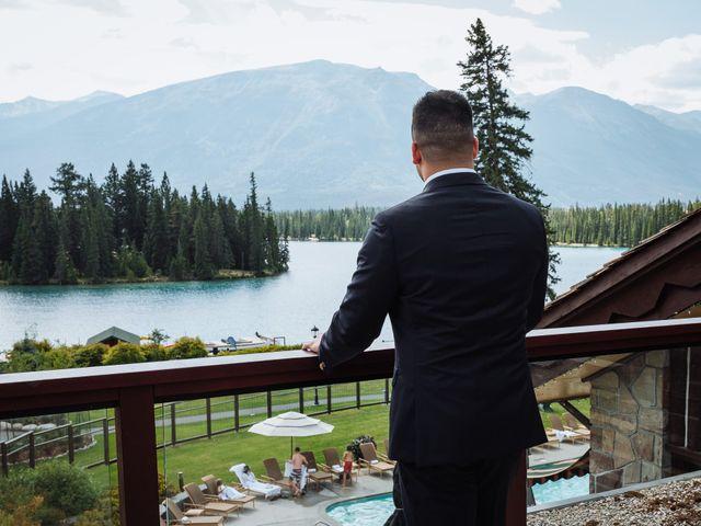 Dustin and Shannon's wedding in Jasper, Alberta 11