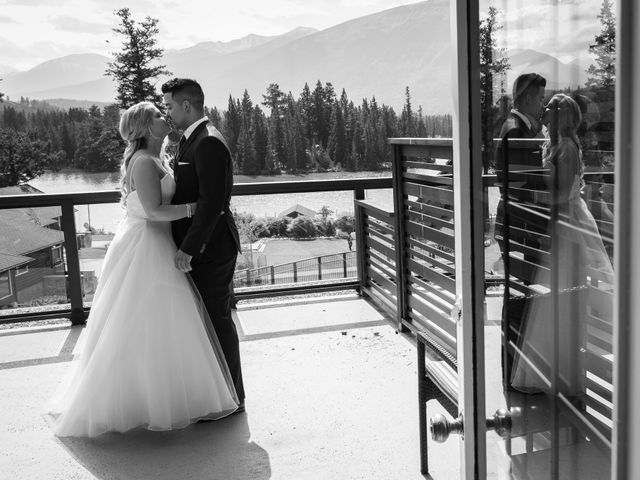Dustin and Shannon's wedding in Jasper, Alberta 13