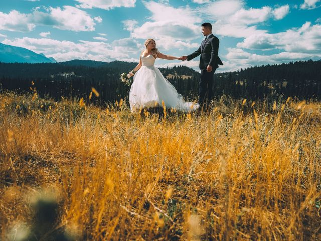Dustin and Shannon's wedding in Jasper, Alberta 17