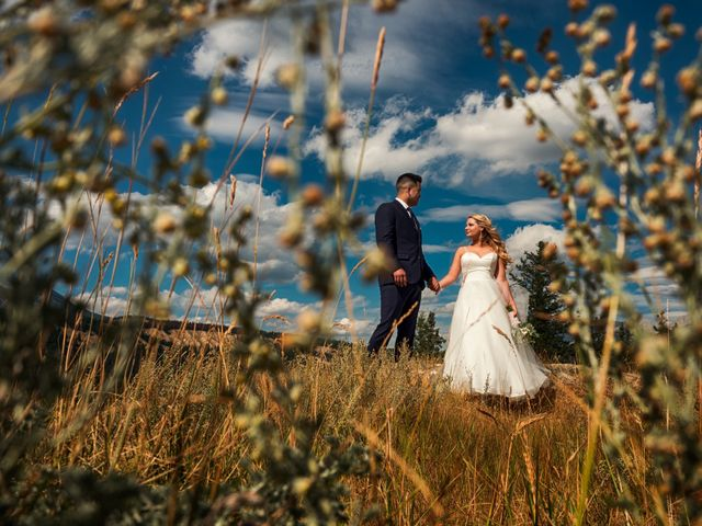 Dustin and Shannon's wedding in Jasper, Alberta 18