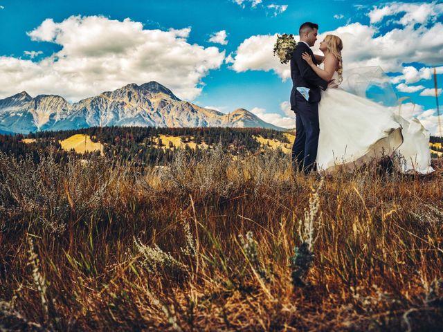 Dustin and Shannon's wedding in Jasper, Alberta 19