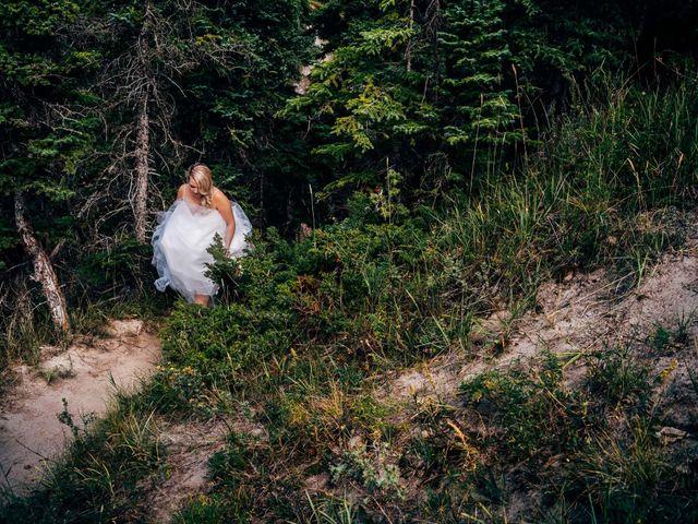 Dustin and Shannon's wedding in Jasper, Alberta 20
