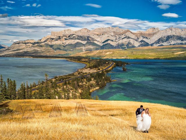 Dustin and Shannon's wedding in Jasper, Alberta 21