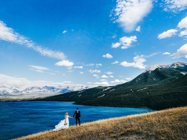 Dustin and Shannon's wedding in Jasper, Alberta 22