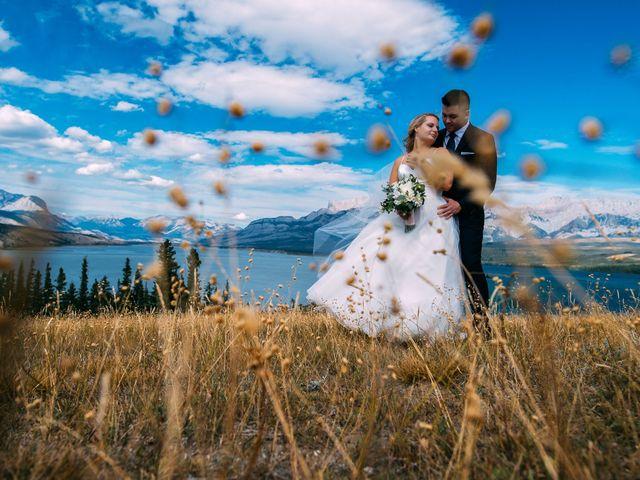 Dustin and Shannon's wedding in Jasper, Alberta 23