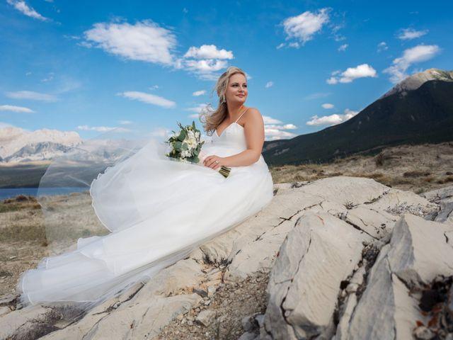 Dustin and Shannon's wedding in Jasper, Alberta 24