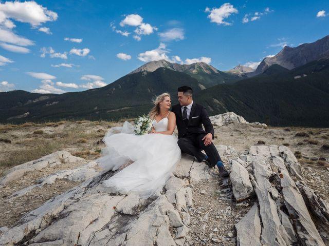 Dustin and Shannon's wedding in Jasper, Alberta 25