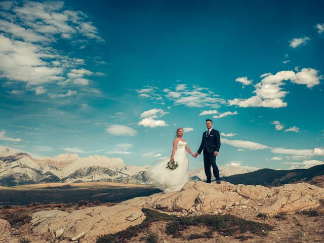 Dustin and Shannon's wedding in Jasper, Alberta 26
