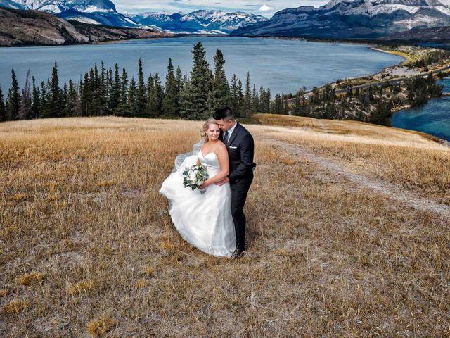 Dustin and Shannon's wedding in Jasper, Alberta 28