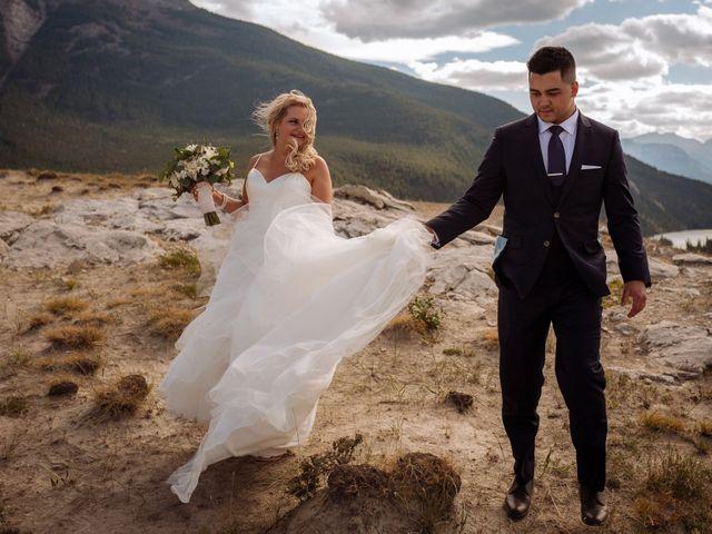 Dustin and Shannon's wedding in Jasper, Alberta 29