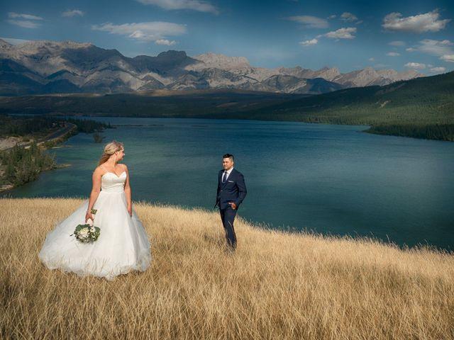 Dustin and Shannon's wedding in Jasper, Alberta 30