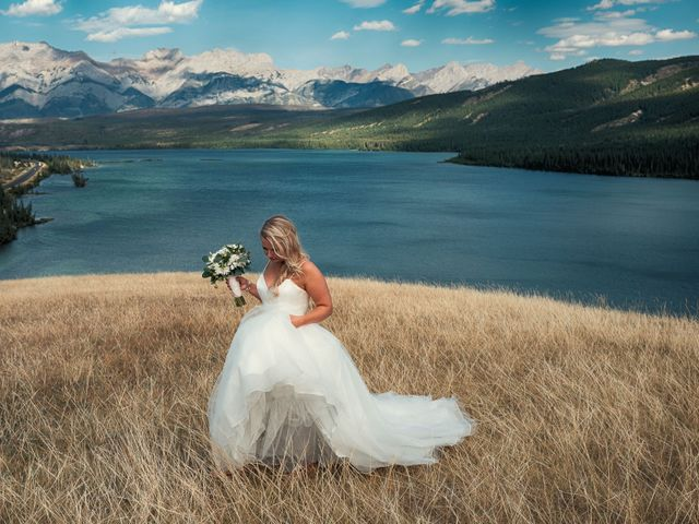 Dustin and Shannon's wedding in Jasper, Alberta 31