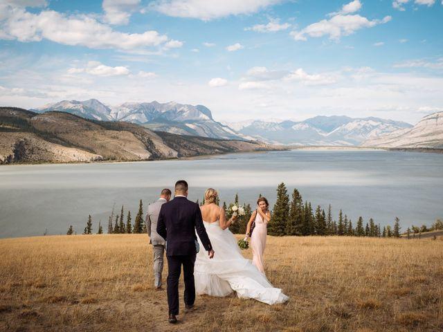 Dustin and Shannon's wedding in Jasper, Alberta 32