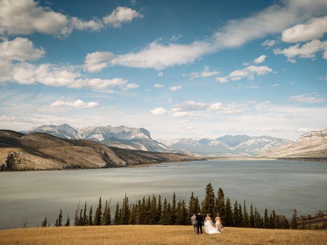 Dustin and Shannon's wedding in Jasper, Alberta 33