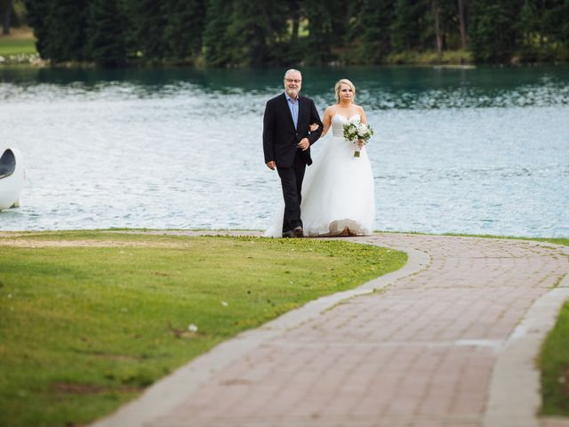 Dustin and Shannon's wedding in Jasper, Alberta 35