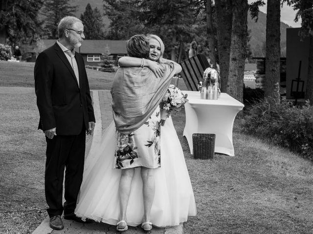 Dustin and Shannon's wedding in Jasper, Alberta 37