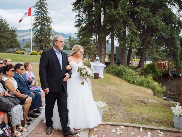 Dustin and Shannon's wedding in Jasper, Alberta 38