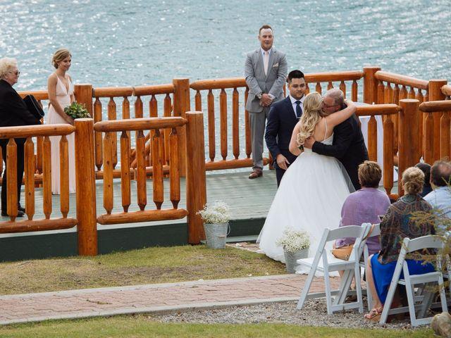 Dustin and Shannon's wedding in Jasper, Alberta 39