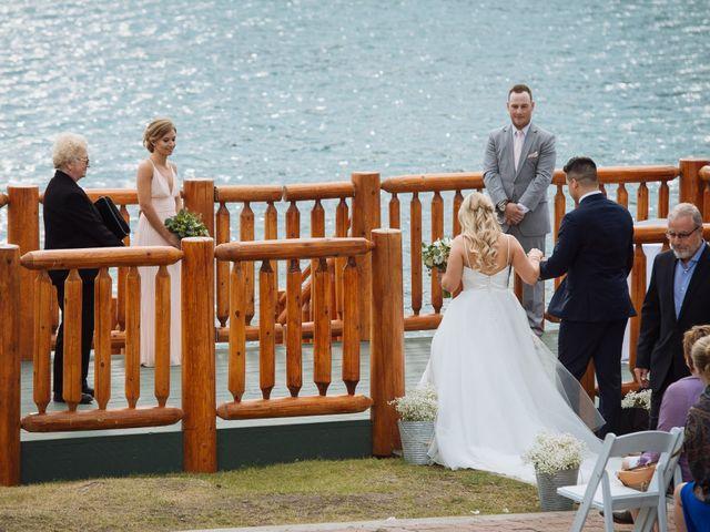 Dustin and Shannon's wedding in Jasper, Alberta 40