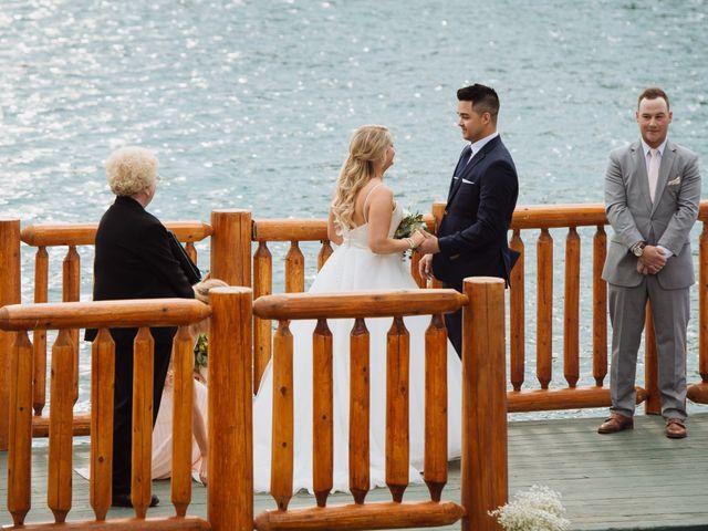 Dustin and Shannon's wedding in Jasper, Alberta 41