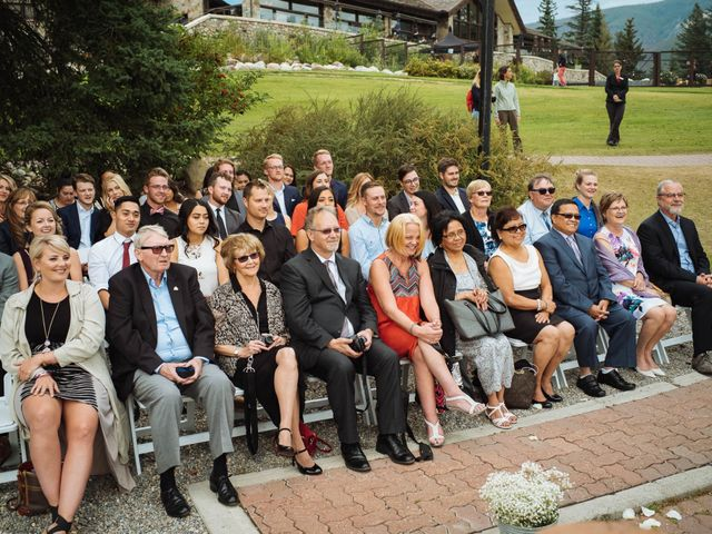 Dustin and Shannon's wedding in Jasper, Alberta 44