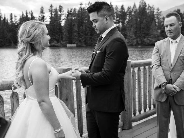 Dustin and Shannon's wedding in Jasper, Alberta 48