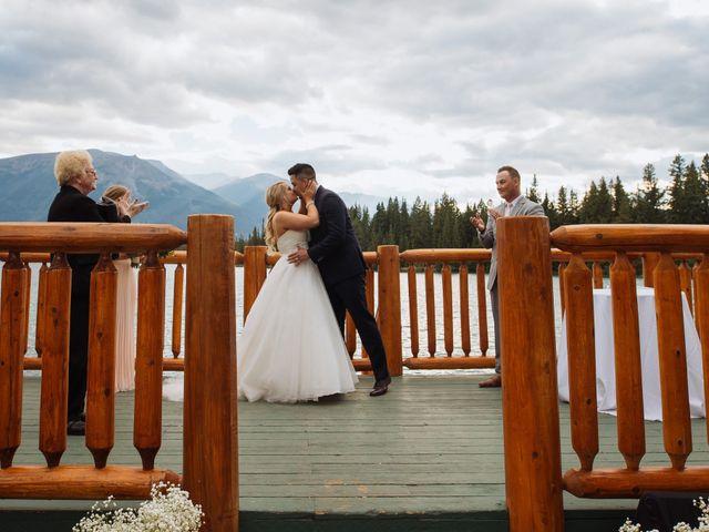Dustin and Shannon's wedding in Jasper, Alberta 50