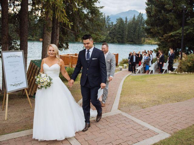 Dustin and Shannon's wedding in Jasper, Alberta 54