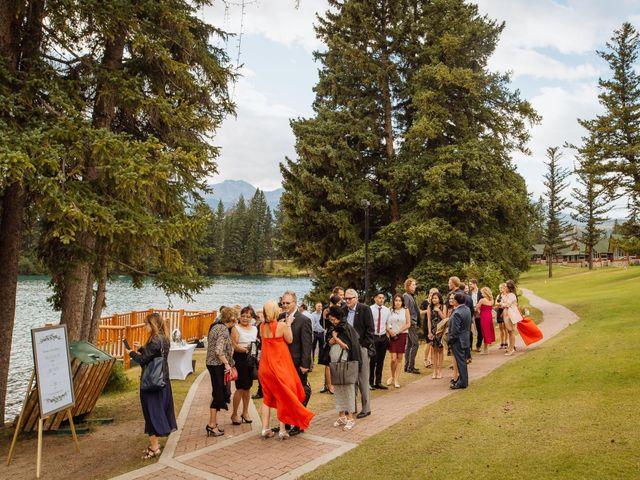 Dustin and Shannon's wedding in Jasper, Alberta 56