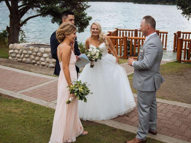 Dustin and Shannon's wedding in Jasper, Alberta 57