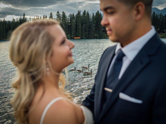 Dustin and Shannon's wedding in Jasper, Alberta 61