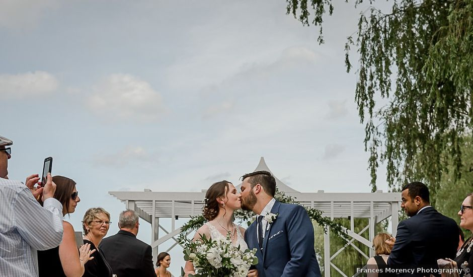 Harrison and Kate's wedding in Collingwood, Ontario